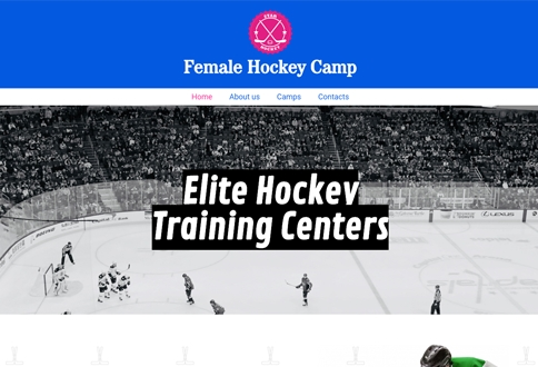 Female Hockey Camp
